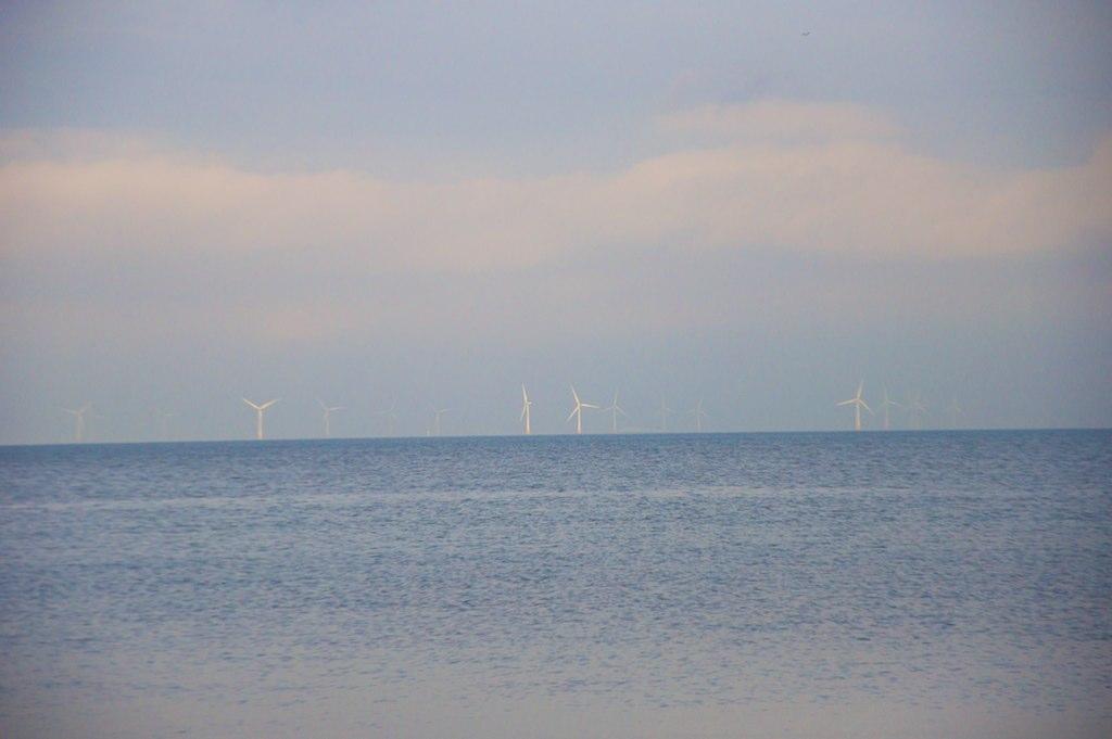 """Distant Wind Farm"" by Lee-Anne Inglis"