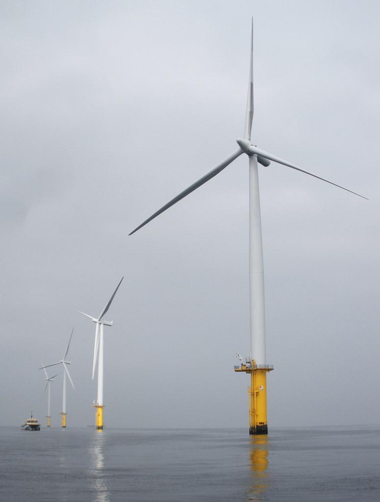Teeside Offshore Wind Farm by aul Howzey